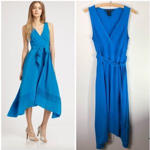 Marc by Marc Jacobs Silk Blue Gossip Girl Dress
